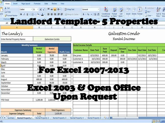 Apartment Work order Template Awesome Landlord Rental In E and Expenses Tracking Spreadsheet