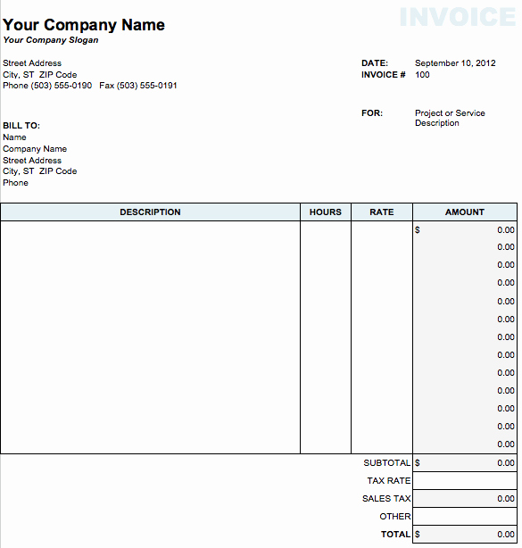 Apple Pages Invoice Template Awesome Invoice Template Pages