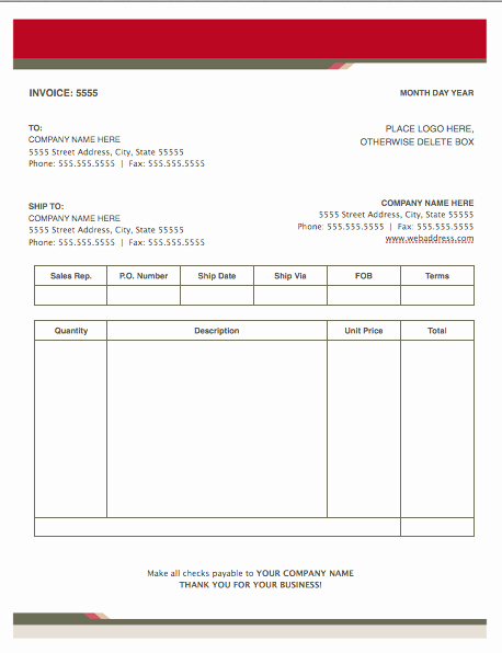 Apple Pages Invoice Template Elegant Health Stylish Invoice Template for Pages Free Iwork