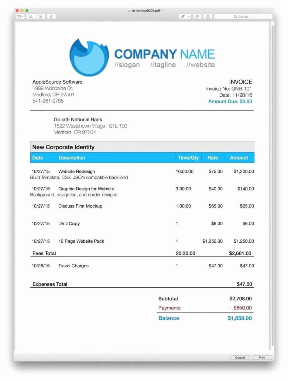 Apple Pages Invoice Template Inspirational Apple Pages Invoice Template Five Things You Need to Know