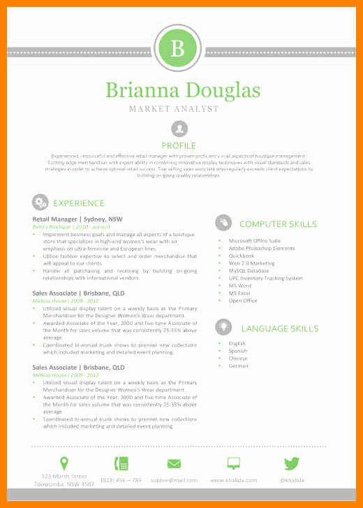 Apple Pages Resume Template Best Of 18 Pages Cv Template Mac