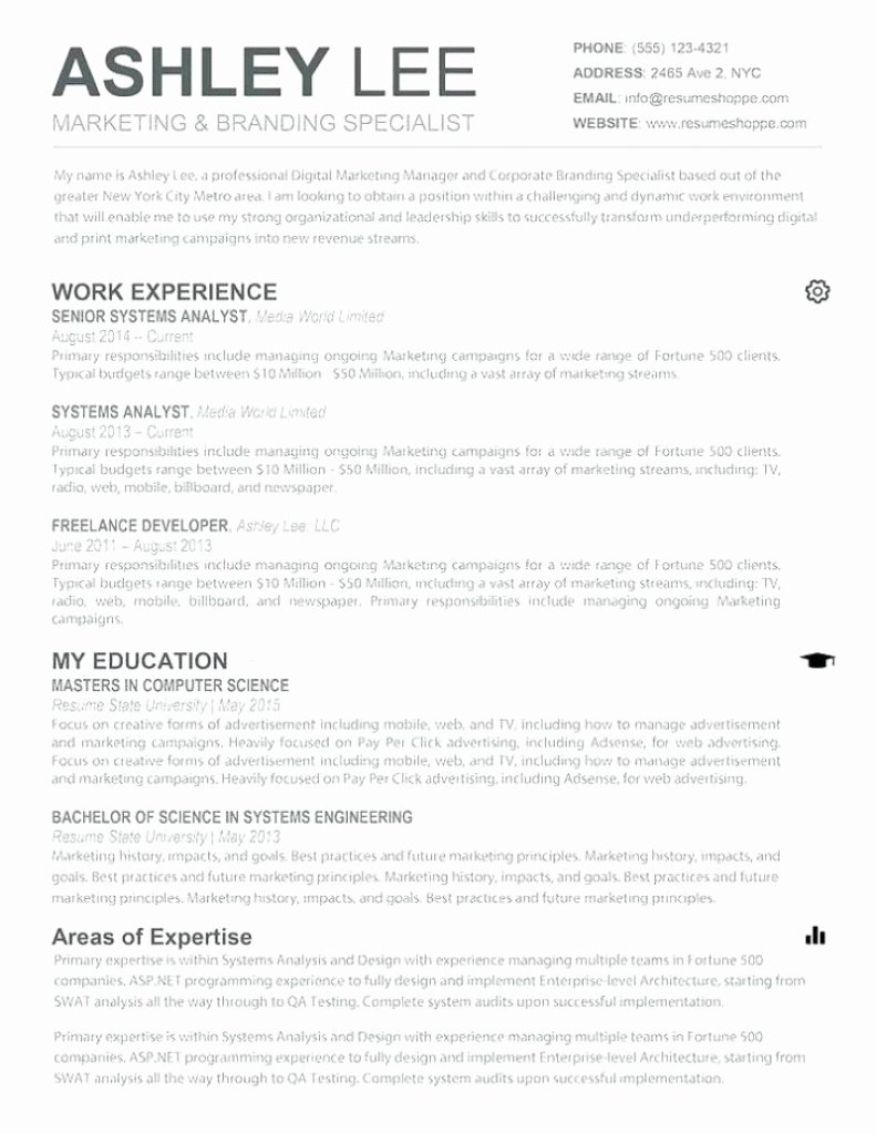 Apple Pages Resume Template Best Of Mac Pages Resume Templates Download