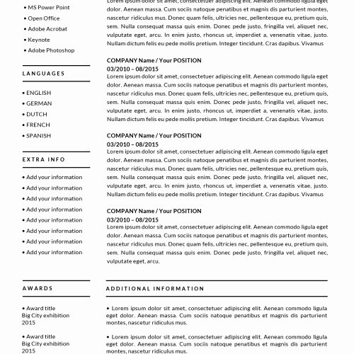 Apple Pages Resume Template Inspirational Free Mac Pages Resume Templates