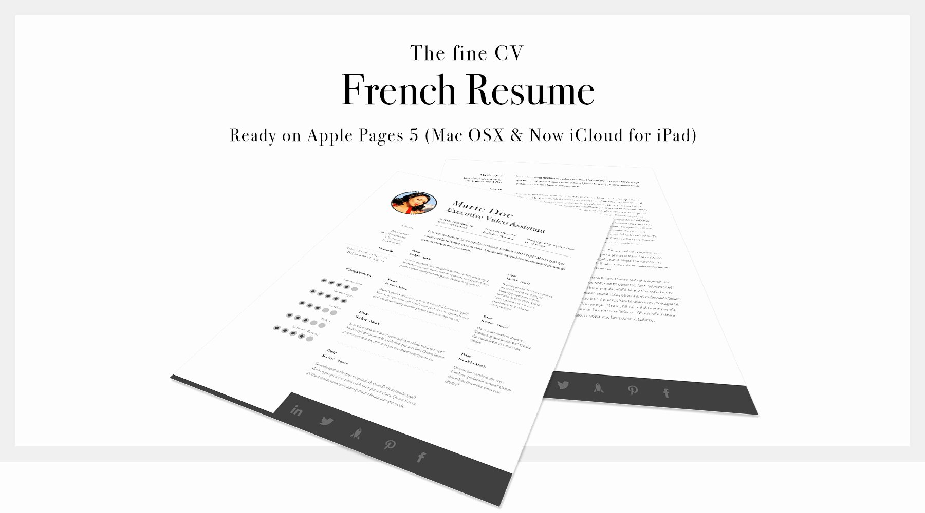 Apple Pages Resume Template New Mac Pages Cover Letter Template Examples