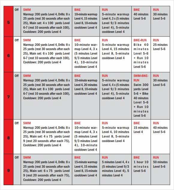 Army Training Calendar Template Beautiful Training Calendar Template 11 Free Download for Pdf