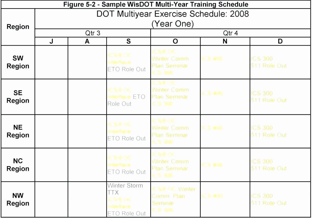 Army Training Calendar Template Inspirational Army Training Schedule Template Plan Sample – asctech