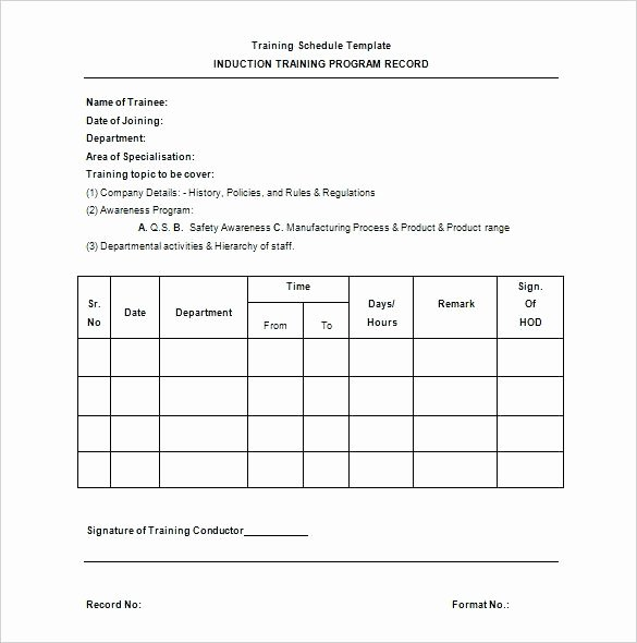 Army Training Plan Template Luxury Weekly Training Schedule Template – Tangledbeard