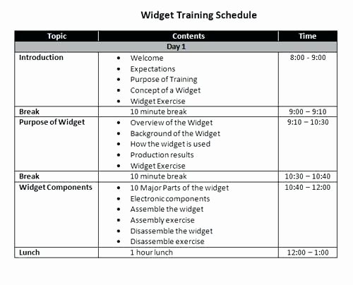 Army Training Plan Template Unique Fitness Plan Army Training Schedule Template Pt Calendar