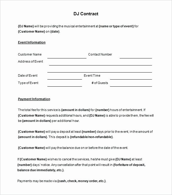 Artist Management Contract Template Beautiful Entertainment Management Agreement Template Artist Manager