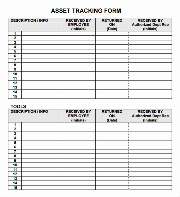 Asset Management Template Excel Beautiful Inventory Tracking Template 6 Download Free Documents