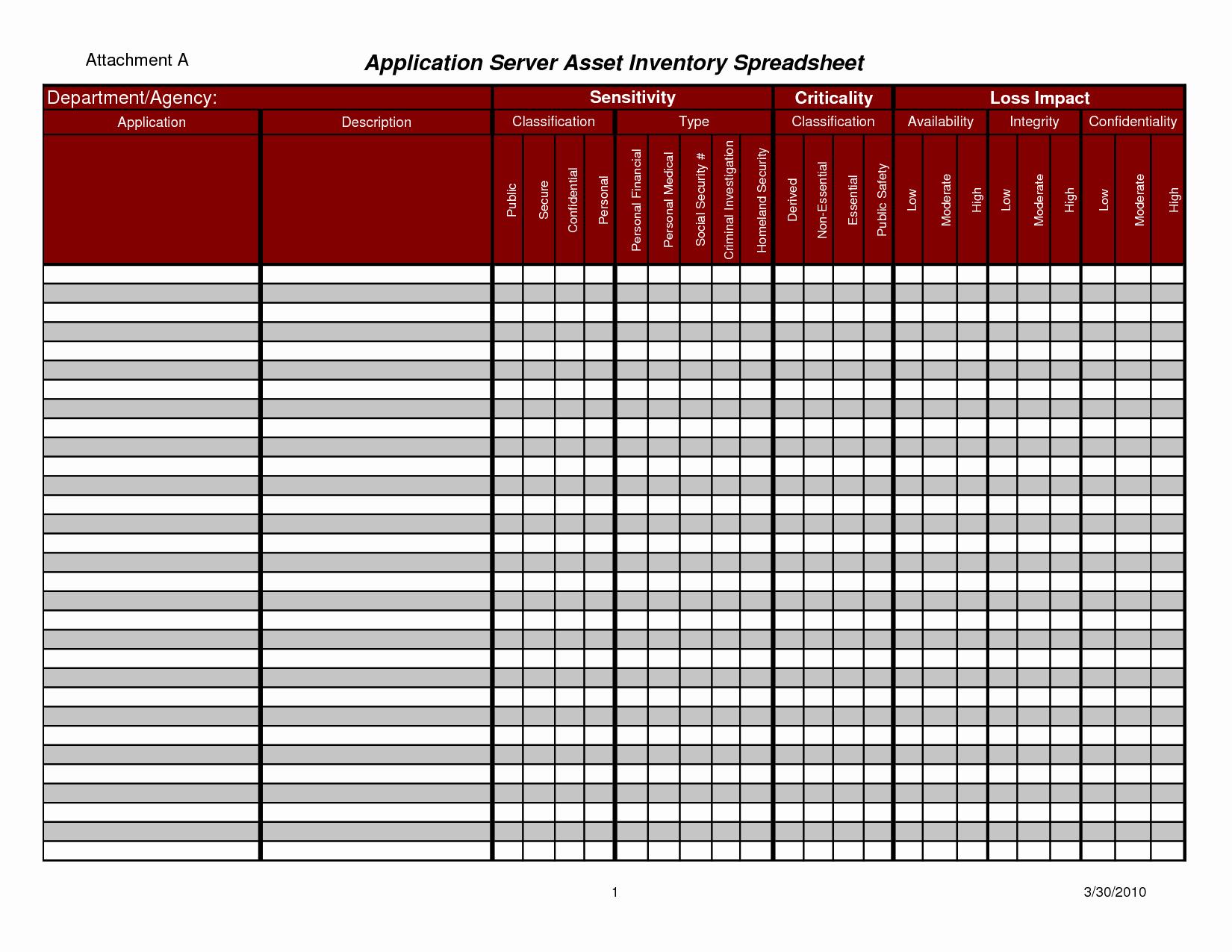 Asset Management Template Excel Lovely asset Management Spreadsheet Template Management