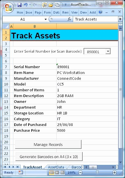 Asset Management Template Excel Unique 8 Best Of asset List Template Excel asset