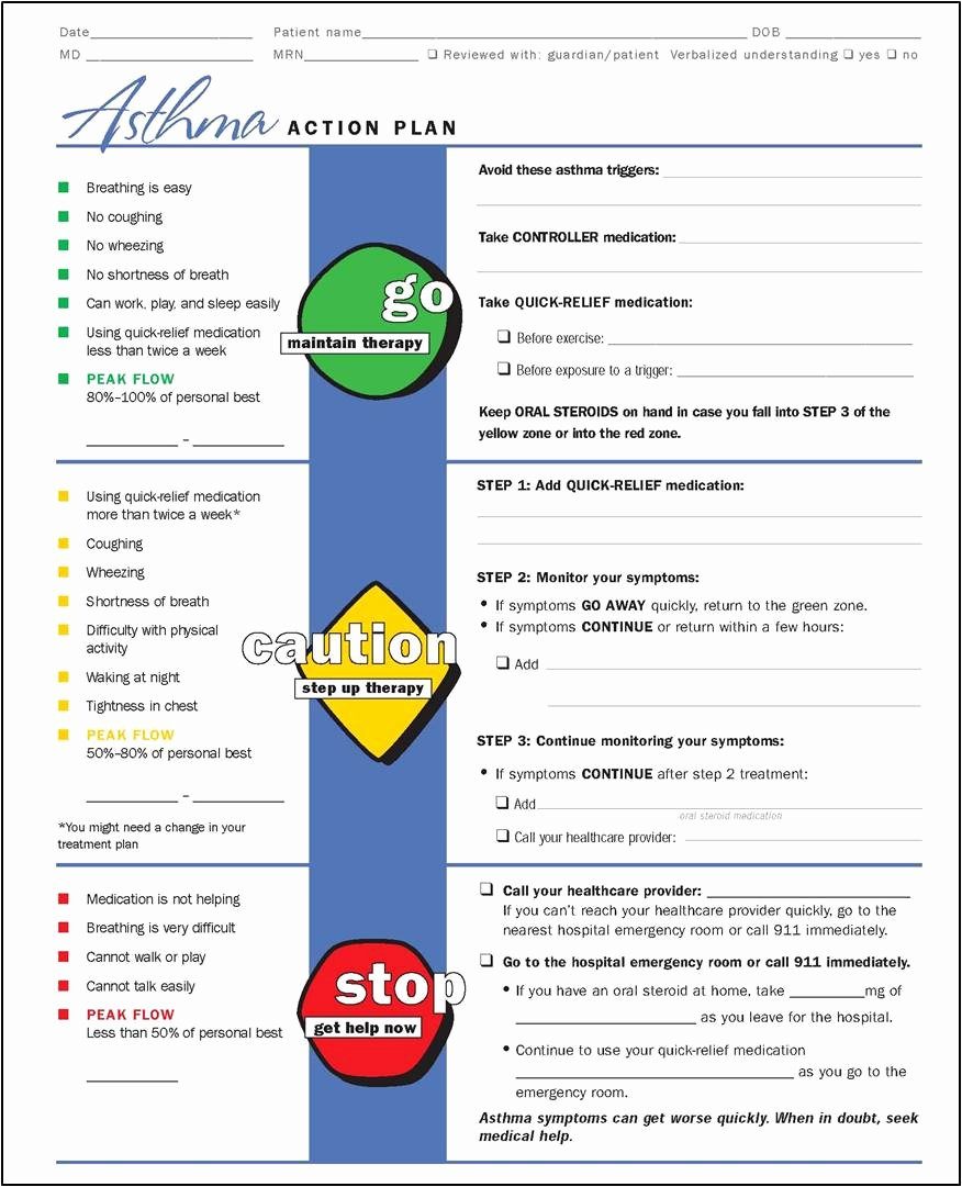 Asthma Action Plan Template Beautiful My Life as An asthma Mom July 2012