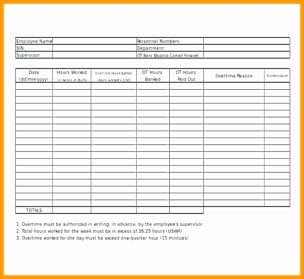 Attorney Billable Hours Template Lovely Overtime Worksheet Template Rcnschool