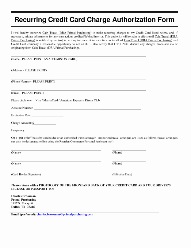 Authorization for Expenditure Template Fresh Authorization form Template Example Mughals