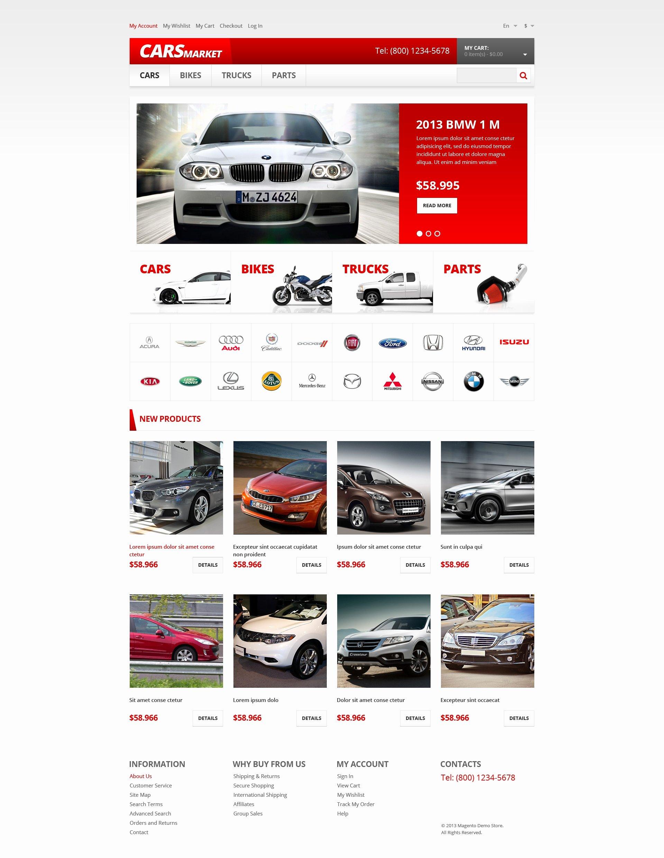 Auto Dealer Website Template Best Of Car Dealer Responsive Magento theme