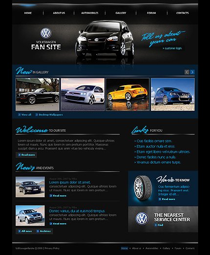 Auto Dealer Website Template Elegant Car Dealer Templates