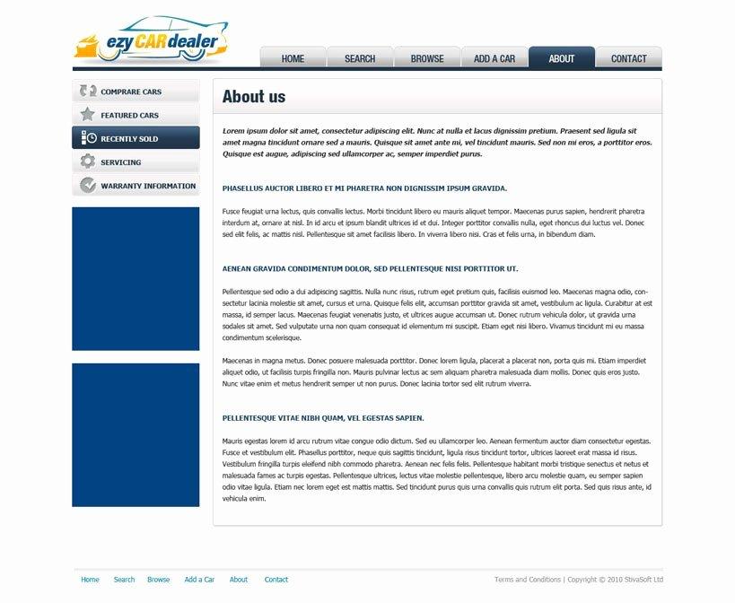 free car dealer website template 87
