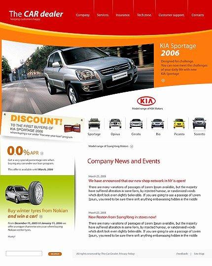 Auto Dealer Website Template Lovely Car Dealer Templates