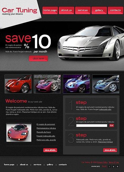 Auto Dealer Website Template Unique Car Dealer Templates