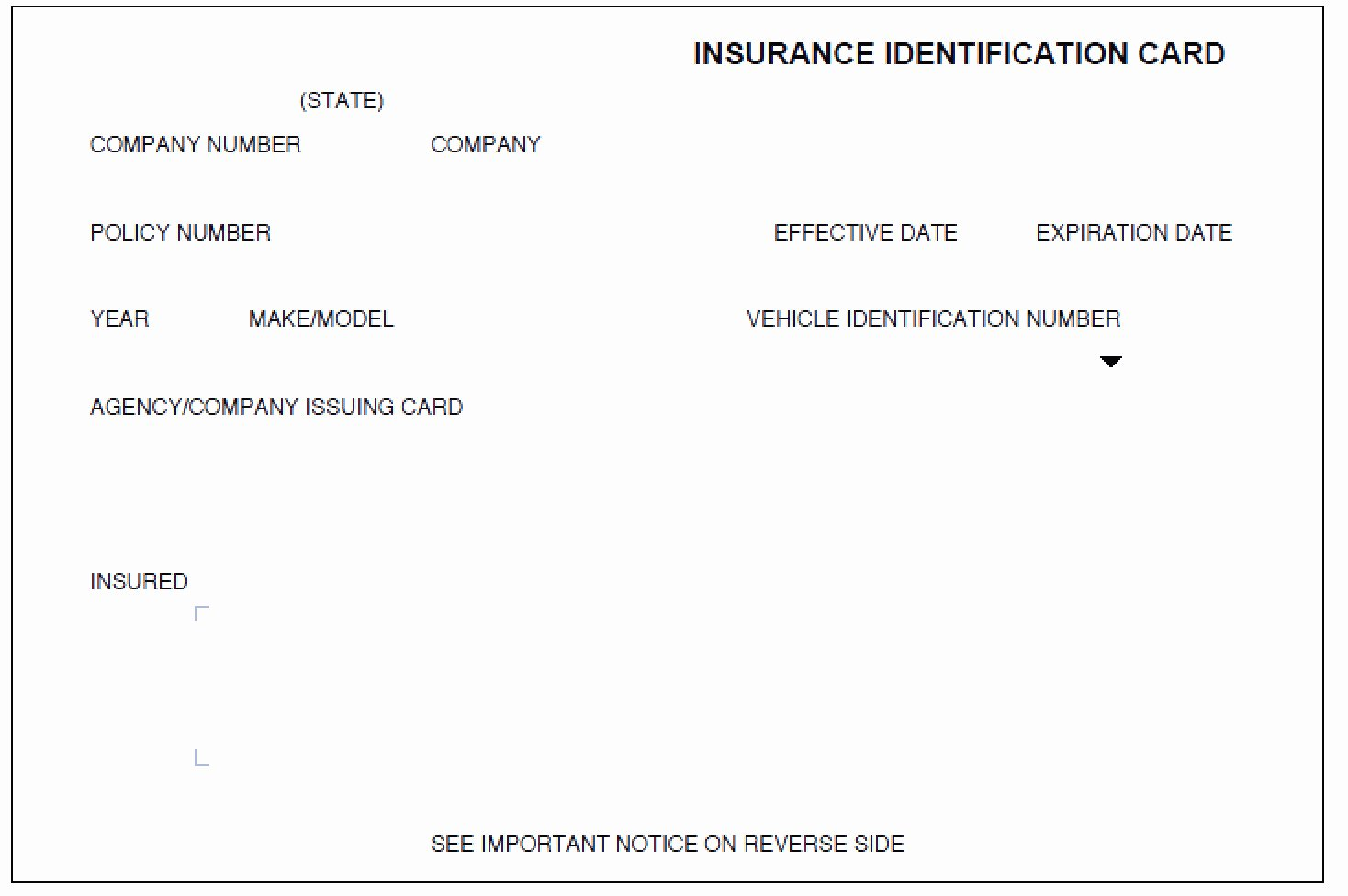 Auto Insurance Card Template Pdf New Auto Insurance Card Template Pdf 0 Discover China townsf