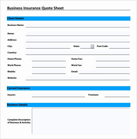 Auto Insurance Quote Sheet Template Elegant Index Of Cdn 1 1999 805