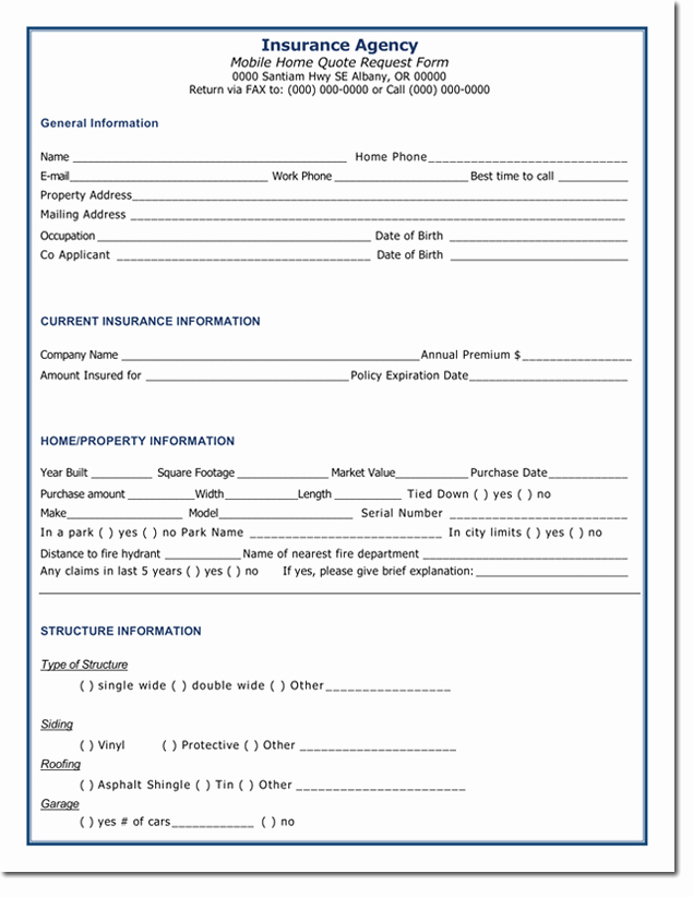 Auto Insurance Quote Sheet Template Luxury Quotation Templates – Download Free Quotes for Word Excel