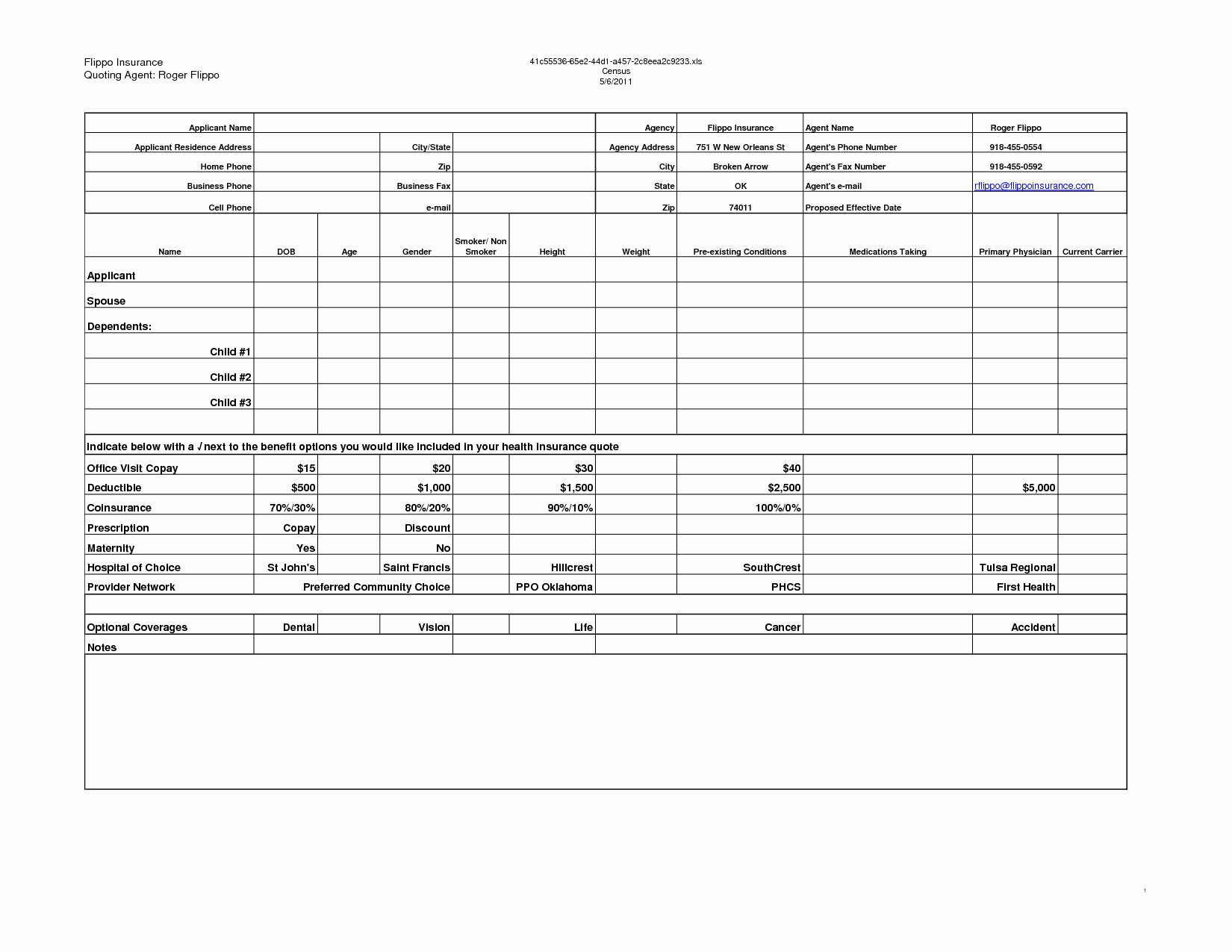 Auto Insurance Quote Sheet Template New New Car Parison Spreadsheet and Home Insurance Quote