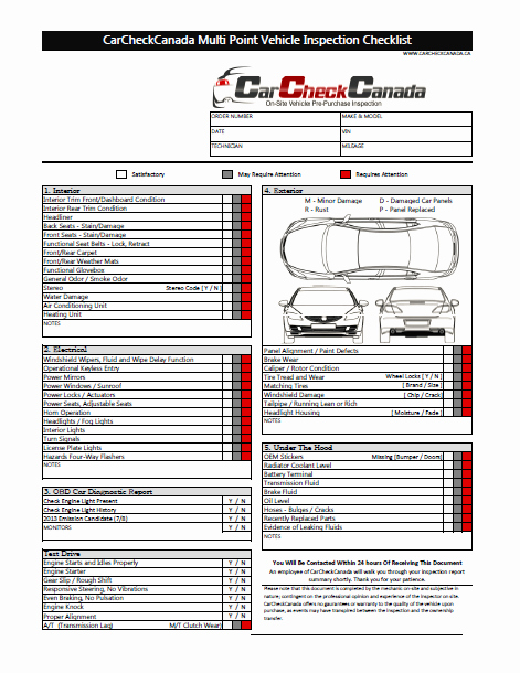 Auto Repair Checklist Template Elegant Car Inspection Checklist Shopping Pinterest