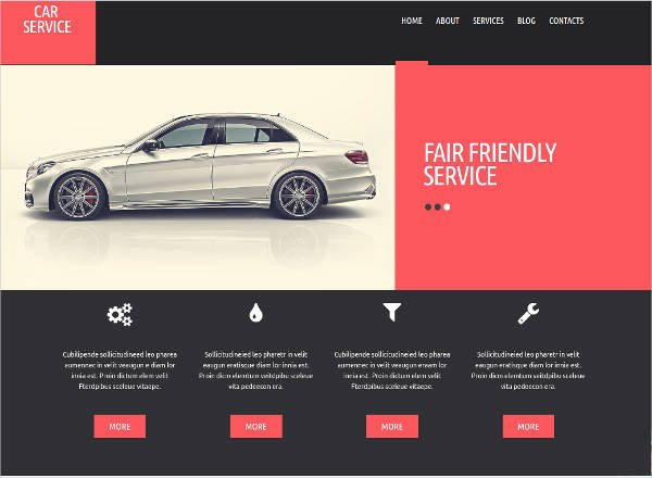 Auto Repair Website Template Fresh 25 Auto Repair Website themes & Template