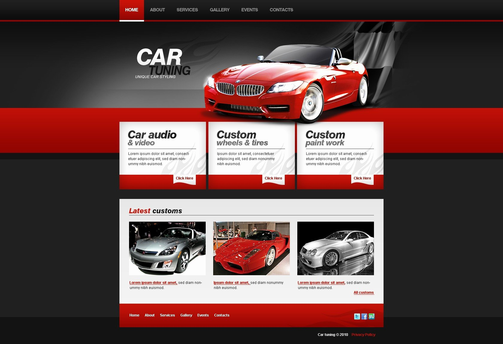 Auto Repair Website Template Lovely Car Repair Website Templates Template Monster