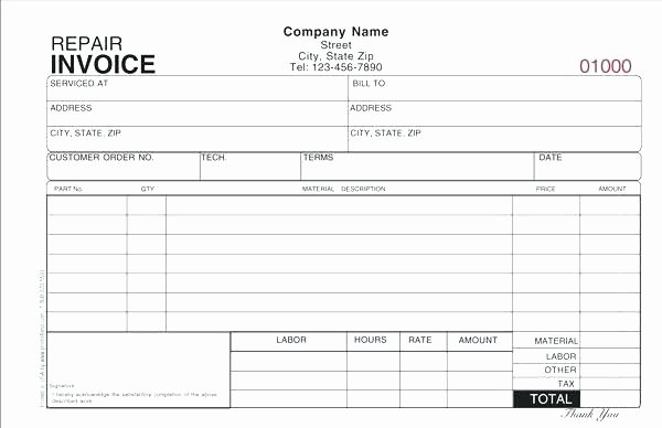 Auto Work order Template Unique Creating Your Own Maintenance Work order Template Free