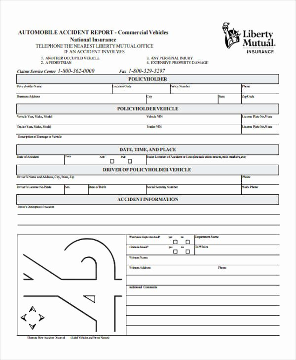 Automobile Accident Report form Template Best Of 29 Accident Report forms In Pdf