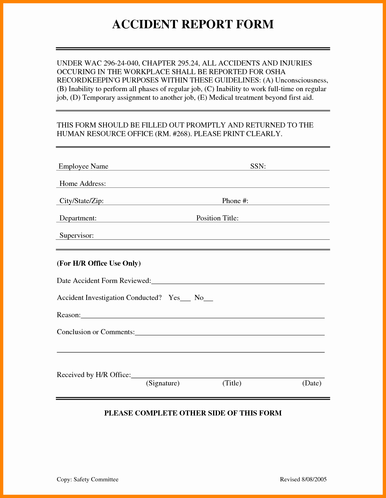 Automobile Accident Report form Template Best Of form Template Car Accident Report form Car Accident