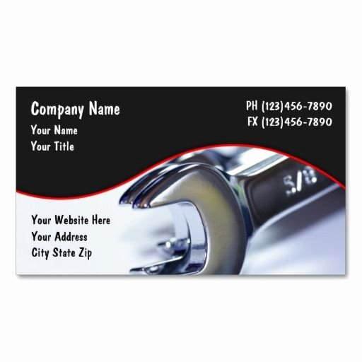 Automotive Business Card Template Free Best Of 143 Best Images About Automotive Business Cards On