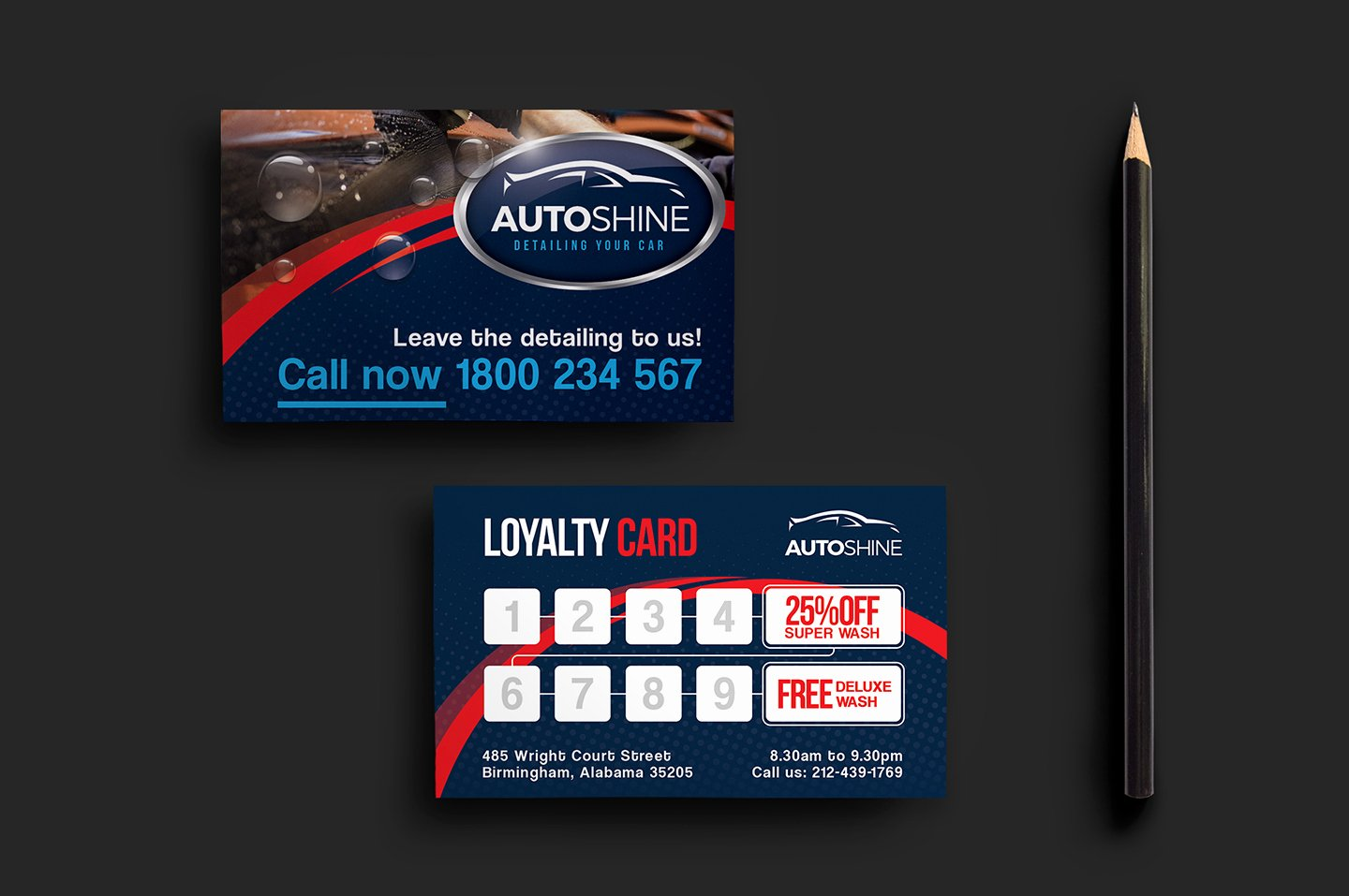 Automotive Business Card Template Free Best Of Free Car Wash Templates In Psd Ai & Vector Brandpacks