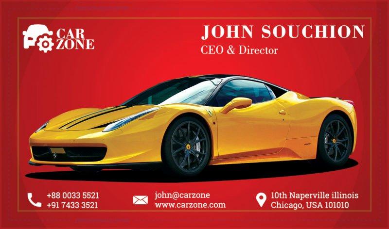Automotive Business Card Template Free Elegant Automotive Business Card Templates Psd