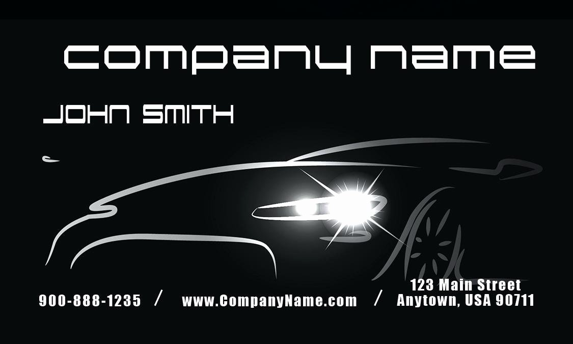 Automotive Business Card Template Free Fresh Auto Repair Business Card Templates Free