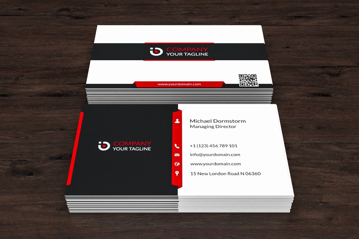 Automotive Business Card Template Free Lovely Corporate Business Card 01 Business Card Templates