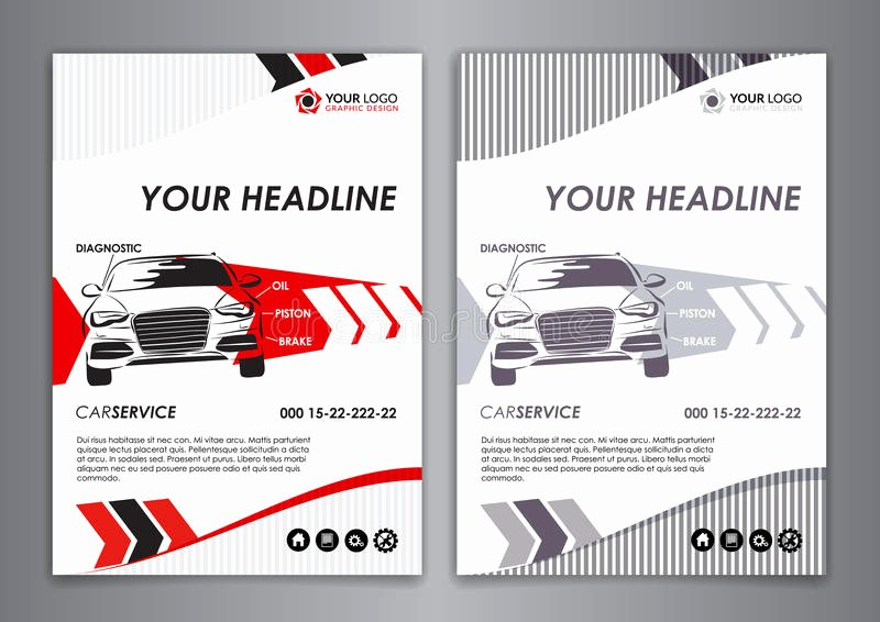 Automotive Business Card Template Free Luxury A5 A4 Service Car Business Card Template Auto Repair