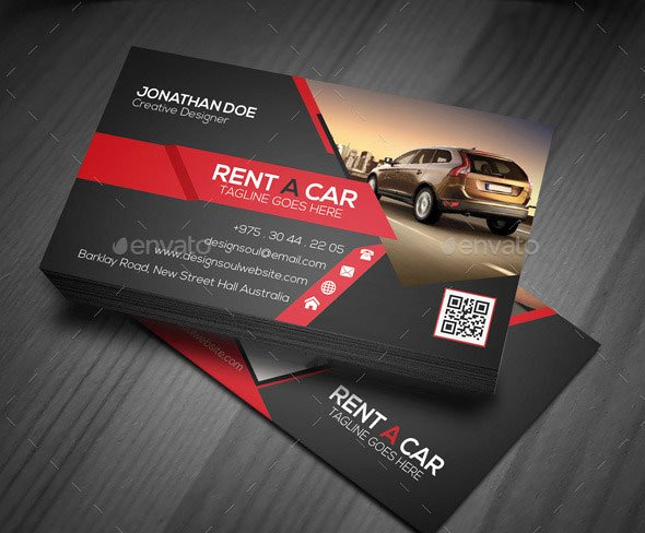 Automotive Business Card Template Free New 20 Best Automotive Business Card Design Templates