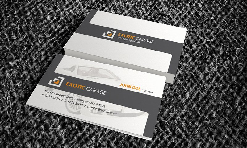 Automotive Business Card Template Free New Auto & Car Business Card Template Free Download Cm