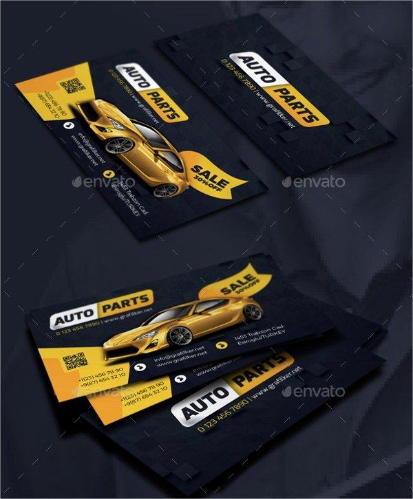 Automotive Business Card Template Free Unique 22 Automotive Business Cards Free Psd Ai Eps format