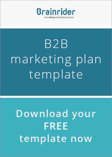 B2b Marketing Plan Template Best Of B2b Content Marketing Strategy Template Brainrider