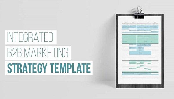 B2b Marketing Plan Template Best Of How B2b Brands Can Map Marketing Strategy