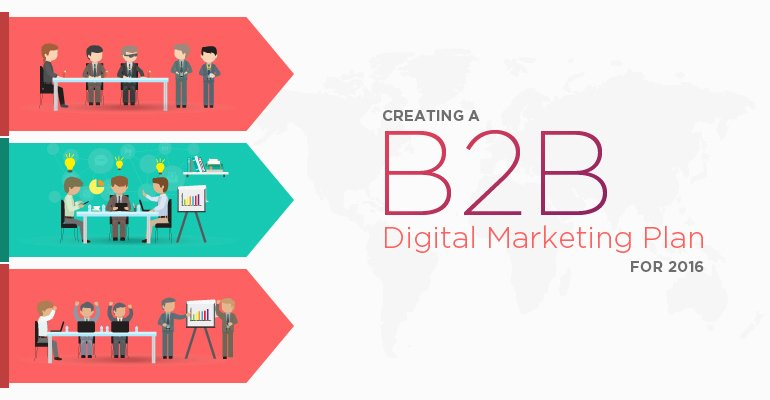 B2b Marketing Plan Template Luxury Creating A B2b Digital Marketing Plan for 2016