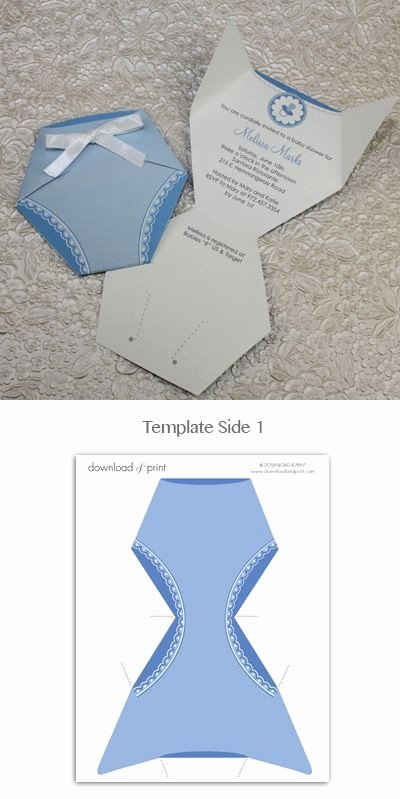 Baby Shower Diaper Invitations Template Beautiful Best 25 Diaper Invitation Template Ideas On Pinterest