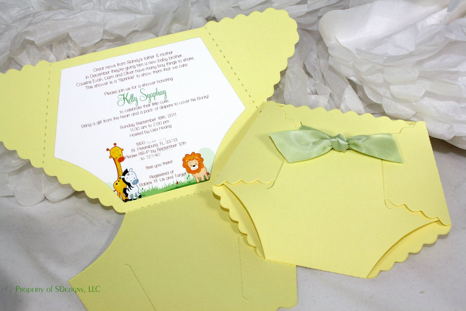Baby Shower Diaper Invitations Template Elegant where to Buy Baby Shower Invitation