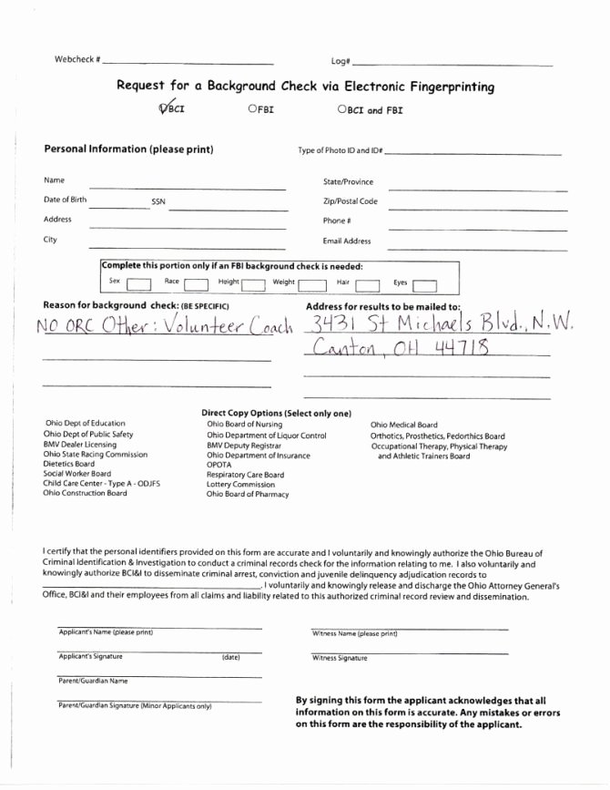 Background Check form Template Awesome First Advantage Background Check Sample Report