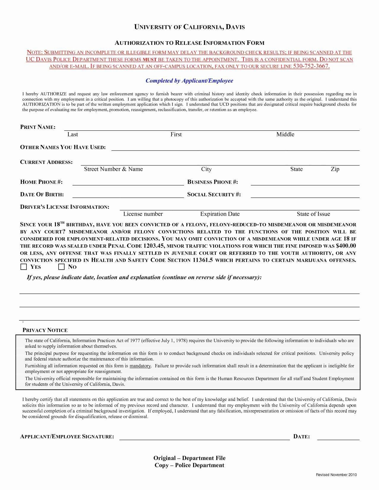 Background Check form Template Awesome Luxury Background Check Release form Template Free